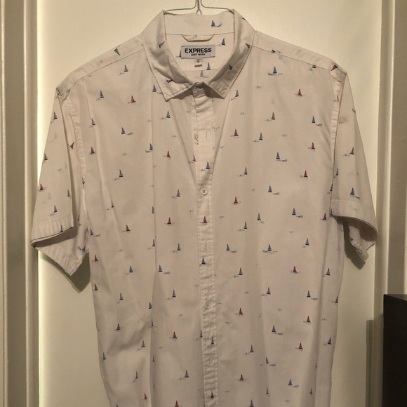 Express Other - Express Men's short sleeve button down